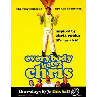 Everybody Hates Chris filmposter (11 x 17)