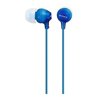 سوني MDR-EX15LPB - سماعات الأذن في الأذن / سماعات الأذن - أزرق