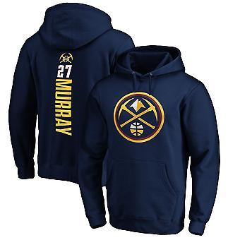Denver Nuggets 27 Murray Løs Genser Hettegenser Sweatshirt WY224
