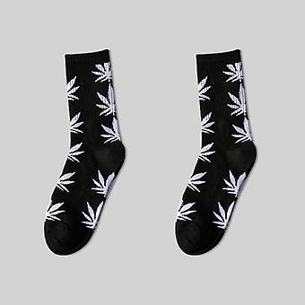 Corea Long Hip Hop Algodón Calcetines/mujeres