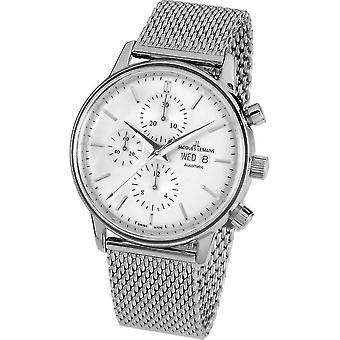 جاك Lemans -- ساعة اليد -- رجال -- ريترو كلاسيك فالجو التلقائي -- N - 208E