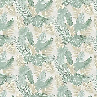 ARTHOUSE LEAF DESIGN GREEN AND NAVY