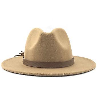 Wide Brim Autumn Trilby Caps/ Top Jazz Cap Winter Panama Hat/vintage Fedoras
