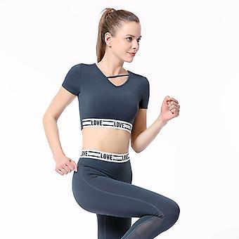 Damas Delgada Yoga Fitness Traje deportivo C03