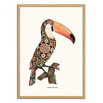 Art-Poster - Boho Toucan - Jonas Loose