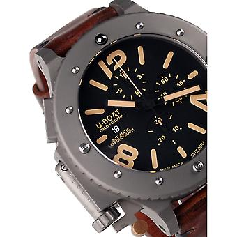 Mens Watch U-Boat 6475, Automatisk, 53mm, 30ATM