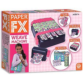 Mindware - paper fx weave machine