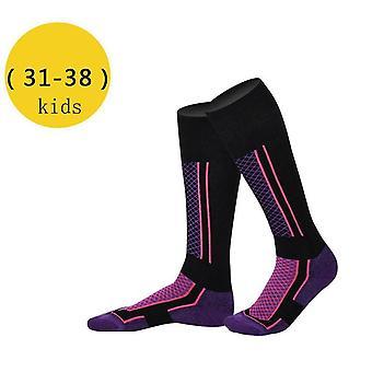 Winter Ski Sports Thermal Long Ski Towel Hiking Sock