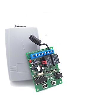 Porta de garagem sem fio de 2 canais, receptor de código de rolamento com código aberto