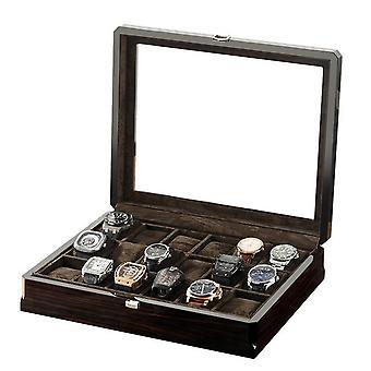 Holz Armbanduhr Männer Aufbewahrungsbox