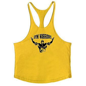 Bodybuilding Stringer Tank Tops, Men Anime Summer, No Pain, No Gain Vest,