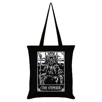 Tödliche Tarot der Kaiser Tote Bag