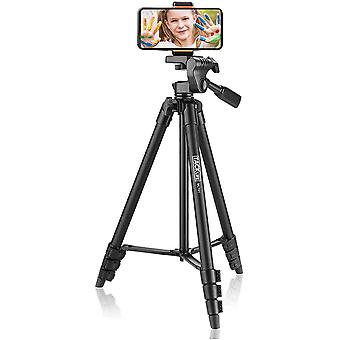 "Tripod,Camera Tripods 136cm(54"")With1/4"" Mounting Screw for All Camera"