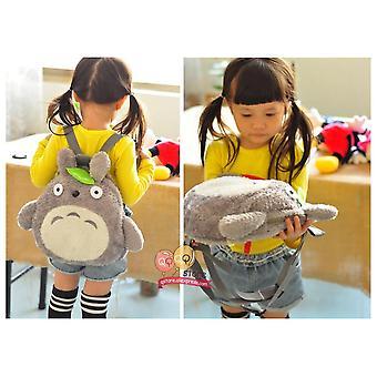 Plush Anime Backpack, Toddler Cartoon Stuffed Toy, Kindergarten, Soft School