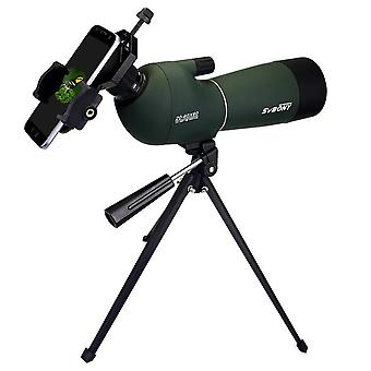 IPRee 20-60x60 Zoom Monocular HD Optic BK7 Bird Watching Spotting Telescope+Tripod+Phone Holder