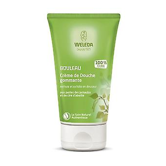 Exfoliating shower cream with birch 150 ml of cream