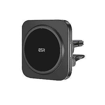 Magnetic 7.5W Wireless Car Charger Secure Air Vent Clamp