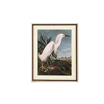 Pintura Dekodonia Bird Oriental Framed (70 x 3 x 88 cm)