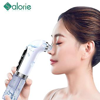 Professional small bubble electric facial cleaning vacuum cleaner blackhead acne remover shrink pores hydrating face skin care