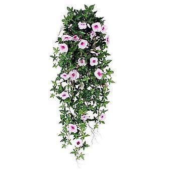 Artificial Trailing Petunia plant 100cm roze
