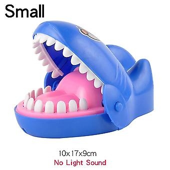 Barn Stor Krokodille Shark Munn, Tannlege Bite Finger Game, Nyhet Vitser,