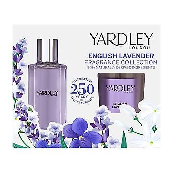 Yardley: Lavender Set (Inc. Eau De Toilette - 50ml & Candle - 120g)