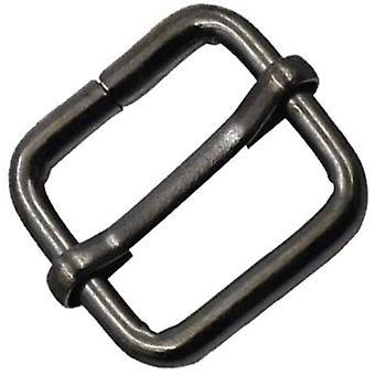 20mm, Metal Triglide Gunmetal Slider Bar Buckles Adjustable Fasteners