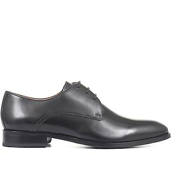 Jones Bootmaker Hombres Monumento Cuero Derby Zapatos