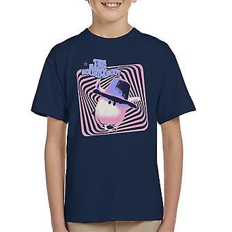 Den magiska rondellen Ermintrude Psykedeliska linjer Kid's T-Shirt