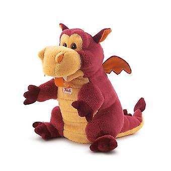 Trudi puppet dragon plush
