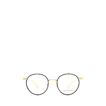 Bottega Veneta BV1017O burgundy & gold unisex eyeglasses