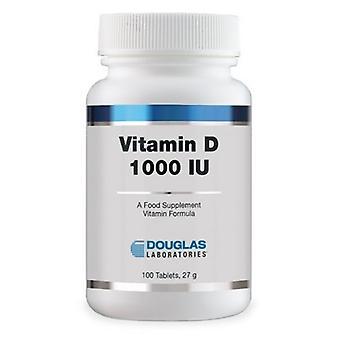 Douglas Vitamin D3 1000Ui 100 Tablets