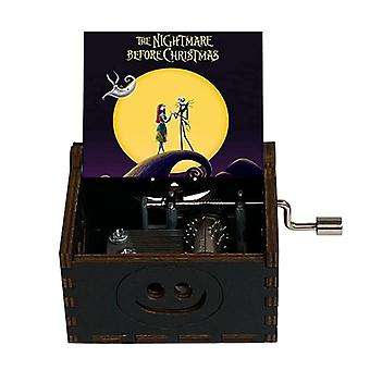 Holz-Musik-Box Halloween Weihnachten