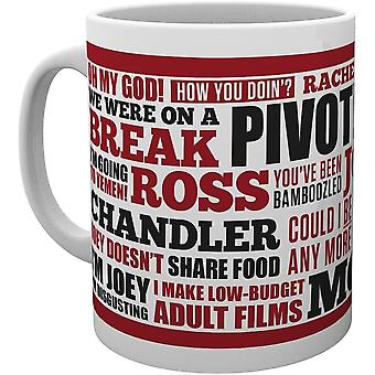 DZK MG0978 Friends, Quotes, Mug, White