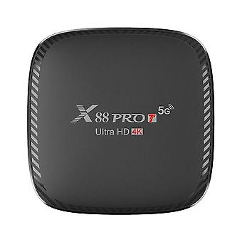X88 pro t set-top box, android 10.0 dual-band wifi smart mini tv box suitable for pc and smart tv