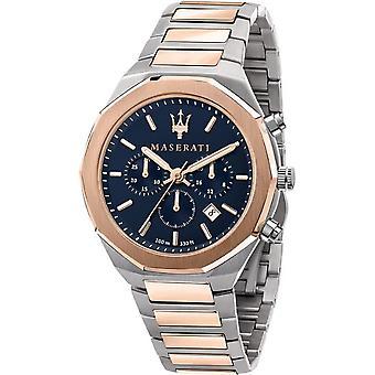Maserati R8873642002 Montre-bracelet Bracelet À deux tons Pour Homme et Stile