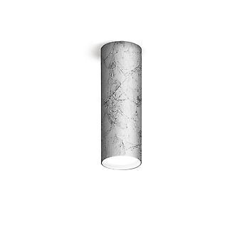 Opbouwspot - Leaf Silver Finish, 1x GX53