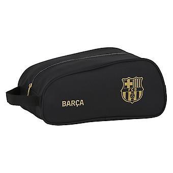 Travel Slipper Holder F.C. Barcelona Black Polyester