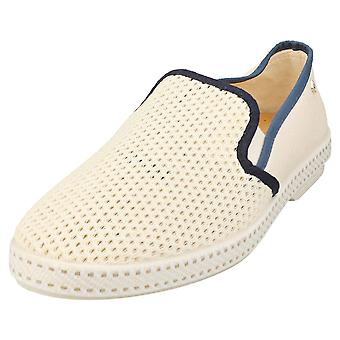 Rivieras Classic Match Mens Espadrille Shoes in Beige
