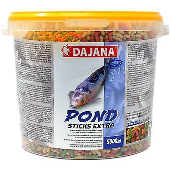 Dajana Teich Extra Bits 5000 Ml (Fische , Fischfutter , Warmwasser)