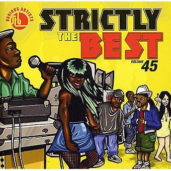 Strengt importerer bedst - Vol. 45-Strictly bedste [CD] USA