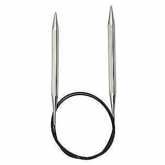 KnitPro نوفا مكعبات: دبابيس الحياكة: دائري: ثابت: 100cm × 3.25mm