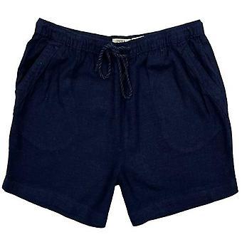 Womens Casual Summer Linen Shorts
