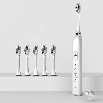 Ultrasonic Sonic Electric Toothbrush(White)