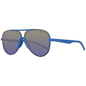 Polaroid PLD 6017/S PW ZDI Sonnenbrille, Blau (Bluette/Bluette SF Green), 60 Unisex-Erwachsene