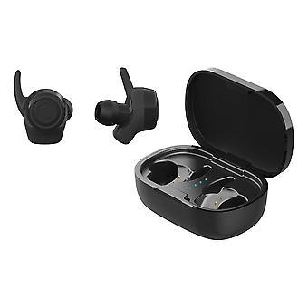 Streetz, Stay-in-Ear Bluetooth Headphones - Black