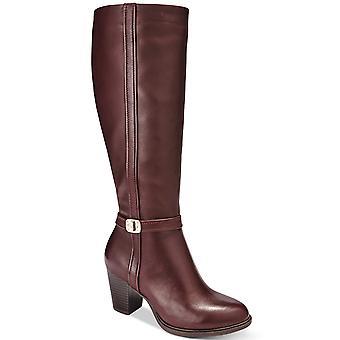 Giani Bernini Womens Raiven Wide-Calf Memory Foam Dress Boots
