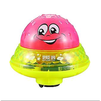 With base red shower pool bath toddler swimming led light bathroom toys az968