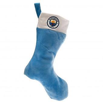 Manchester City FC super soft jule strømpe