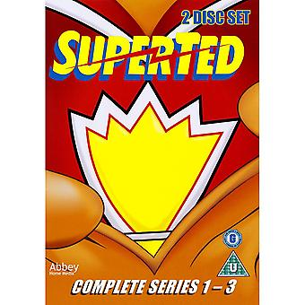 Superted Series 1 to 3 Complete Collection DVD